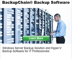 BackupChain Hyper-V Backup for IT Professionals