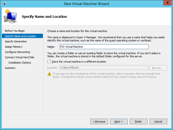 Free Disk2VHD Hyper-V VHDX Physical to Virtual Conversion